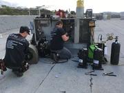 RPM team compressor change-out