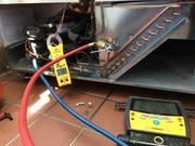 Service valves added to sealed system