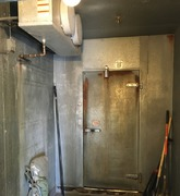 Walk-in Cooler Rehabilitation Before