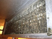 Evaporator coil corroded: frequent ice ups